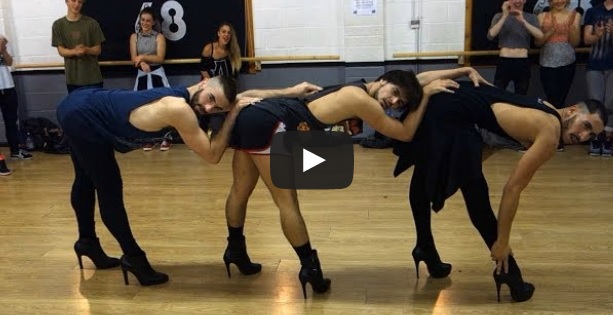 Amazing Dance - Three Guys In Six-Inch Heels Have Absolutely Insane Dance Skills