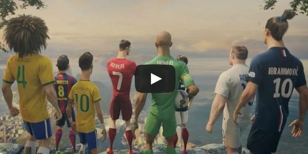The Last Game ft. Ronaldo, Neymar Jr., Rooney, Zlatan, Iniesta & more
