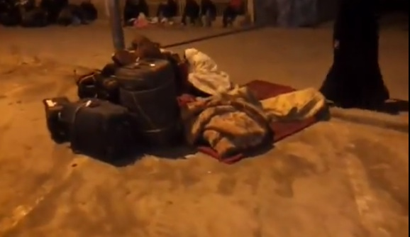 Ethiopians immigrants sleeping on the streets in Saudi Arabia