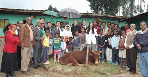 Chinese Chamber of Commerce makes donation to Ethiopia's orphanage