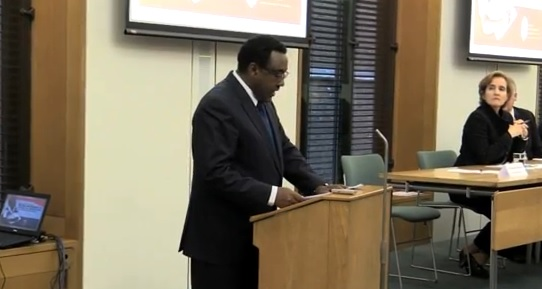 DPM Demeke At GPE -APPG Event- London-2014