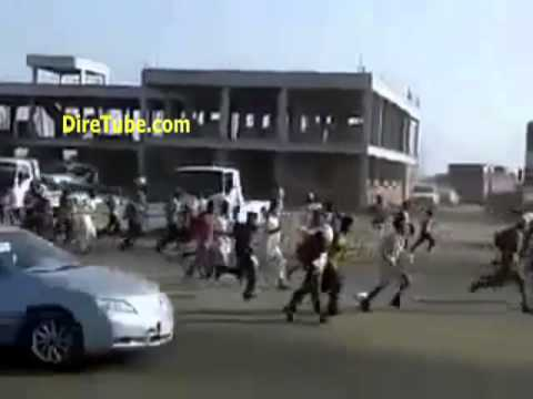 Immigrants in Saudi Arabia Running away from Police
