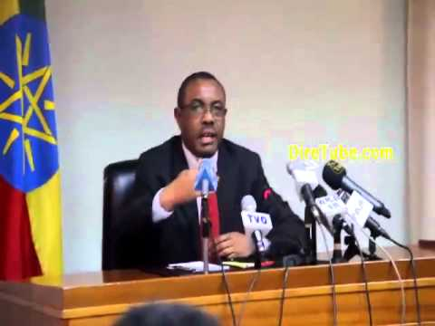 PM Hailemariam Speaks about Ginbot 7 and recent oposition Activities