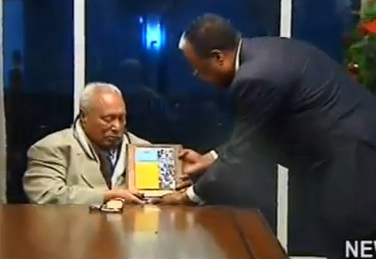 Lions Club International Honors Former President Girma