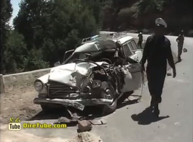 Police News - Horrific Traffic Accident in Amhara and Oromia Region