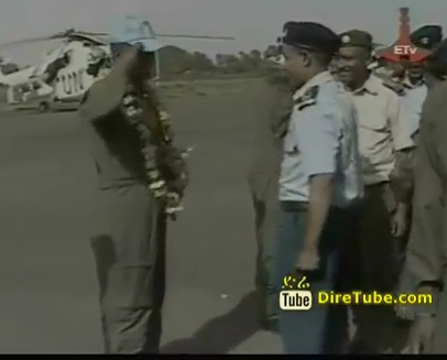 Ethiopian Air Force have arrived from Darfur