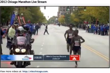 Chicago Marathon Highlights Men's Finish