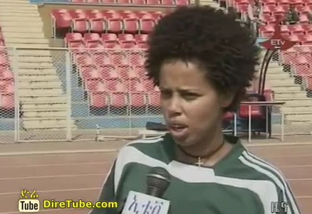 Ethiopian Lucy Friendly Match with Ghana women's national football team