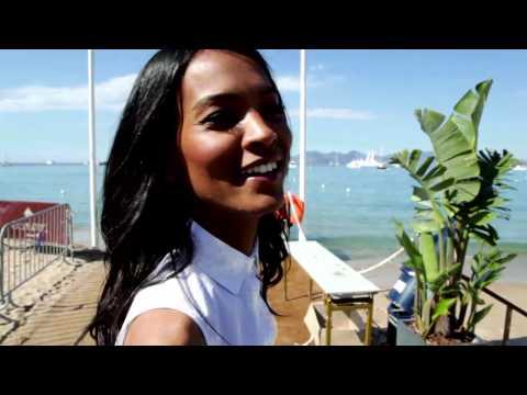 Ethiopian Supermodel Liya Kebede Cannes Film Festival 2012