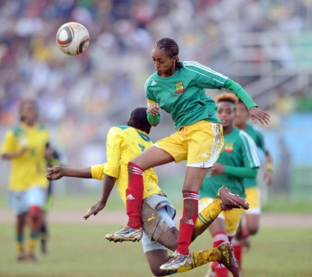 Ethiopian National Women FC Lucy Vs Tanzania's Twiga