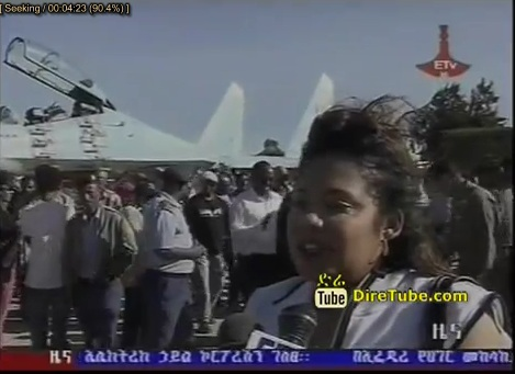 Ethiopian Artists Payed a Visit to Ethiopian Air Force