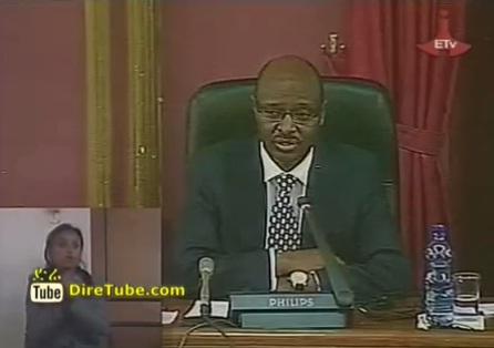 Federal Parliament endorses a 137.8BLN birr budget for 2012/13 Fiscal Year