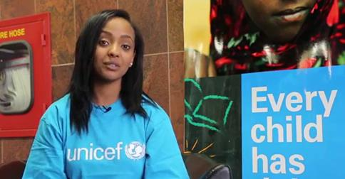 Young rap star Abelone Melese Appoints UNICEF New National Ambassador