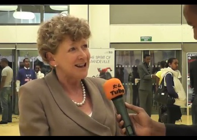 Interview with Barbara Wickham, Director, British Council Ethiopia at Farewell Dinner