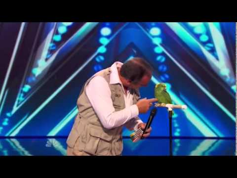 Funny Video - The Birdman America's Got Talent 2014