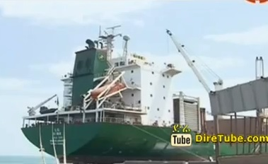 Ethiopian Shipping and Logistics services Enterprise delivery of New Vessel