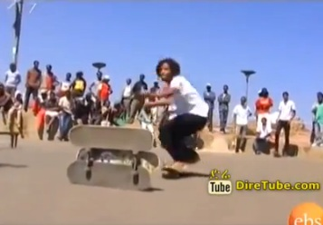 Skateboarding Games in Ethiopia