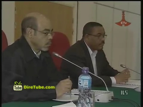 ETV 1PM Full Amharic News - Apr 22, 2012