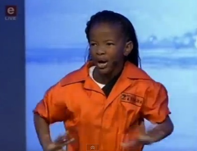 Madiba: An 11 year old girl delivers a breathtaking performance