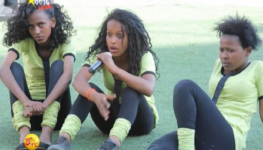 Ethio Lady Dance Crew Performance on Balageru Idol 3rd Audition