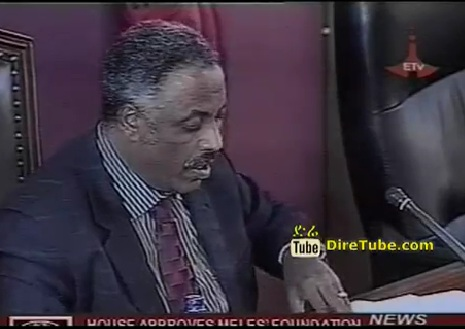 House Approves Meles Foundation Proclamation