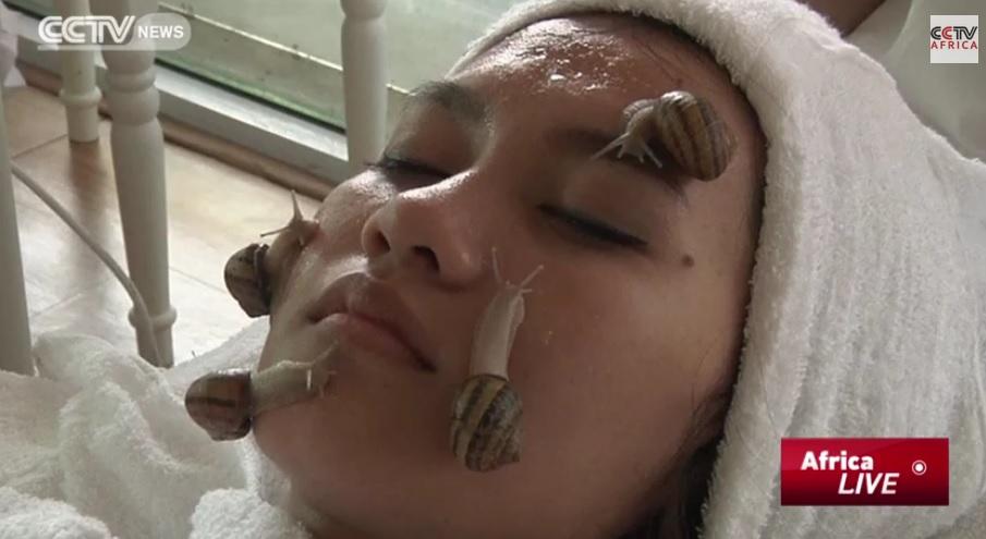 Snail Facial Latest Skin Care Craze at Spas