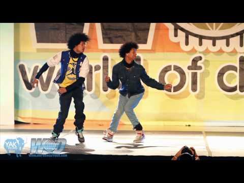 LES TWINS World of Dance San Diego 2010