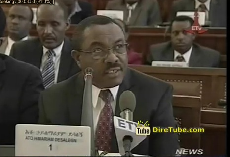PM Hailemariam Dessalegn Responds to Queries of MPs