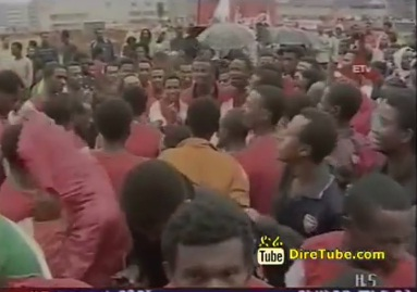 The Great Coca Cola Run held for the Second time in Addis