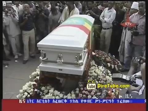 Funeral Held for Maitre Artiste World Laureate Afewerk Tekle