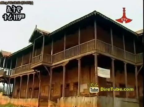 Asosa Region and Sheik Ojela Palace Building Structure - Addis Ababa
