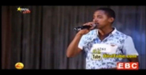 Yohannes Girma Performing Tedros Tadesse's Song - 4th Round