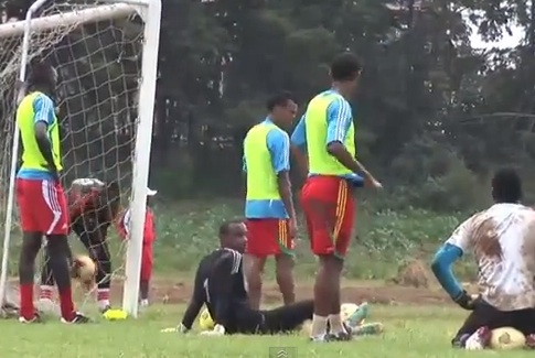 Ethiopia prepare for Nigeria - Training Today!