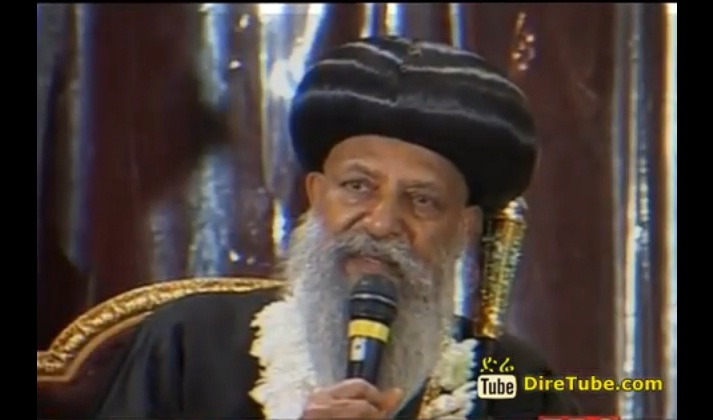 EOTC Patriarch Abune Mathias Returns Home After A Week Long Visit to Egypt