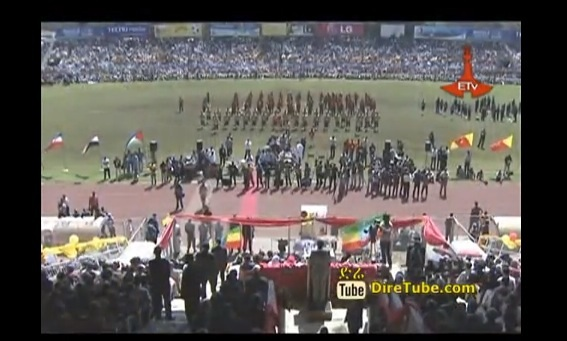 Ethiopia Celebrating 23rd Anniversary of Ginbot-20 at Addis Ababa Stadium