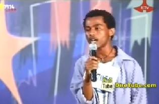 Tamrat Mulatu Vocal Contestant Hawassa City