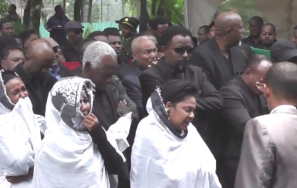 Ethiopian Artists Pay Tribute to the Late PM Meles Zenawi