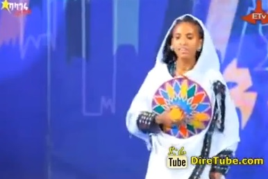 Selamawit Traditional Dance Contestant Addis Ababa