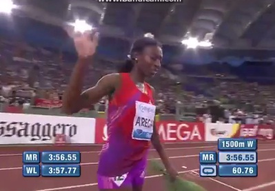 Abeba Aregawi Wins Womens 1500M