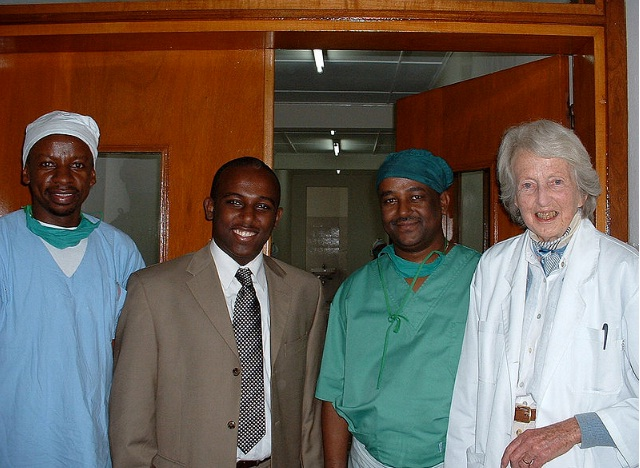 Interview with Dr. Catherine Hamlin - Part 1