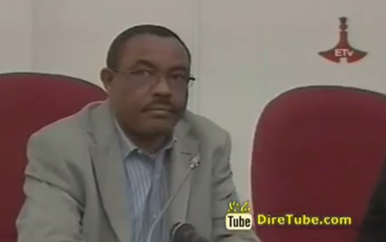 Ato Hailemariam Desalegn Reaction after Election