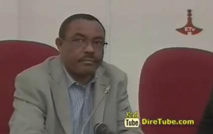 Ato Hailemariam Desalegn Reaction after Election
