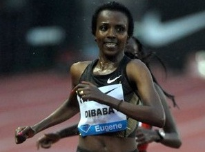 Tirunesh Dibaba is Back, She won 10,000M in Eugene on June 1, 2012