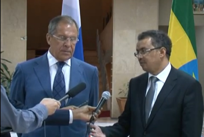 FM Sergey Lavrov Statement to the Media after talks with PM of Ethiopia