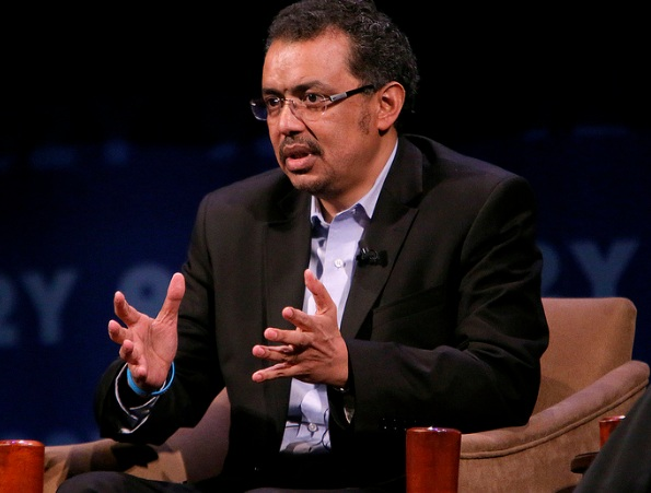 Dr. Tedros Strongly criticize Saudi police treatment