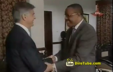 Hailemariam meets Hilton's World Wide President