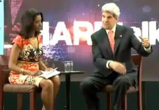 Interview with John Kerry in Addis Ababa University May 2013