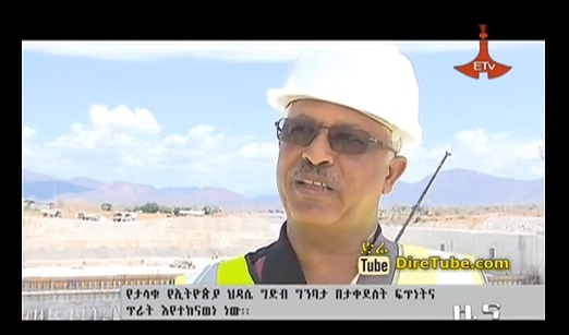 The Ethiopian Renaissance Dam Progress Very Well