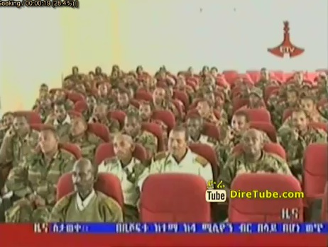 Members of North Division General Commanders promised more than 2.3 Mil for the Dam