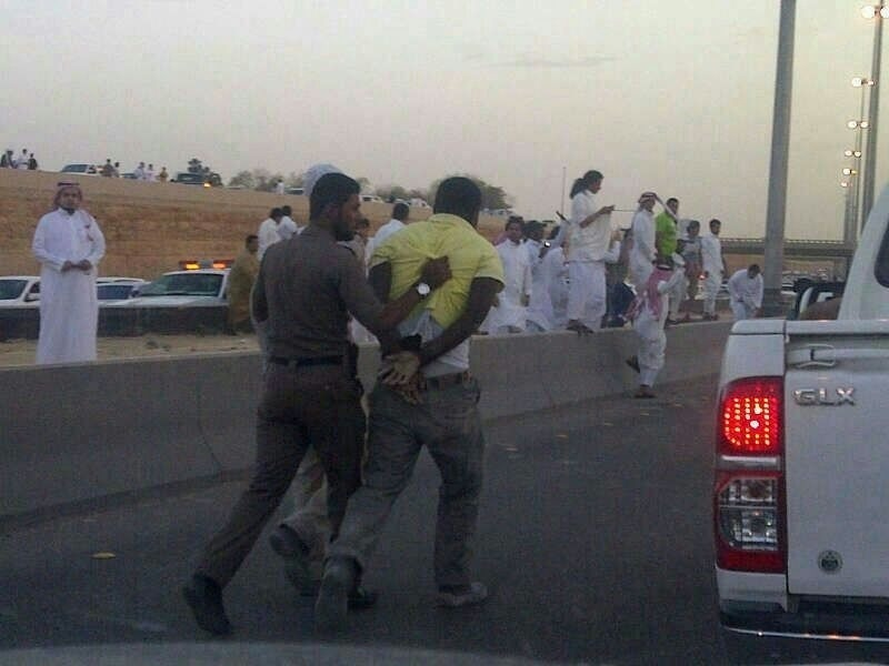 Saudi police killed an Ethiopian who tried to flee arrest